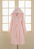 Soft cotton халат LUNA M Pembe розовый