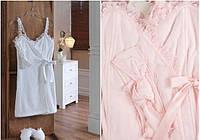 Soft cotton набор для сауны LUNA M  молочный