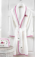 Soft cotton халат LILY L белый