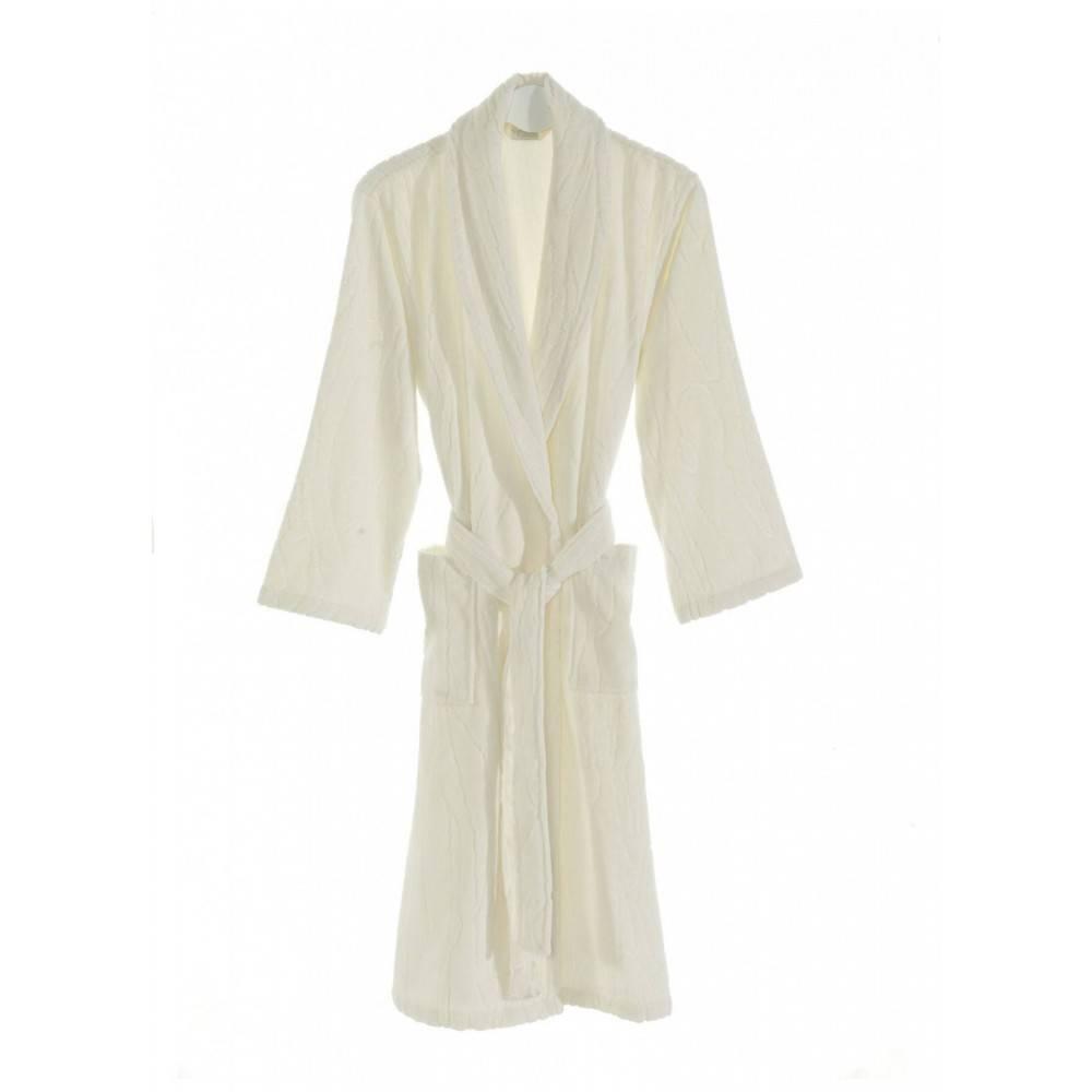 Soft cotton халат SORTIE S Ekru молочний