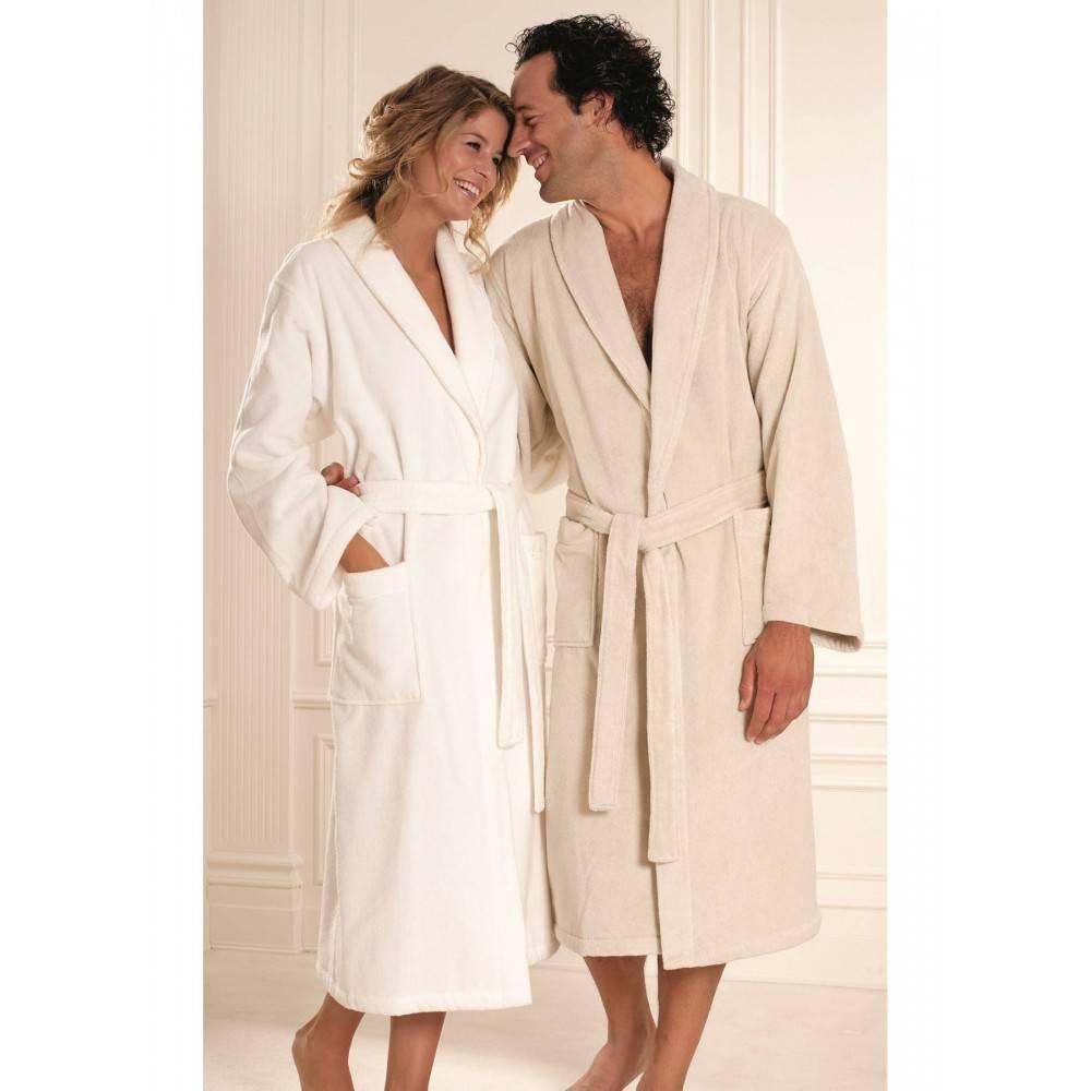 Soft cotton халат MICRO М A. bej бежевий