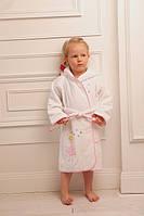 Soft cotton дитячий халат BALLERINA 104 Pembe рожевий