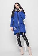 Женская зимняя куртка на тинсулейте LS-8750-12 синяя-44,46,48