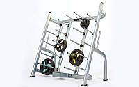 Подставка (стойка) для штанг фитнес памп RK5401C (металл, р-р 153х80х150cм)