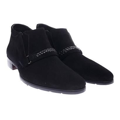 Ботинки мужские замшевые на флисе Magfini 08110-5-1