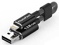 Флешка PhotoFast Кабель-флешка PhotoFast MemoriesCable GEN3 USB3.0 128GB- Black (MCG3U3BK128GB)
