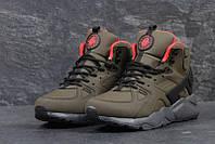 Чоловічі зимові кросівки Nike Air Huarache Winter бордові (3454) 334e01793937d