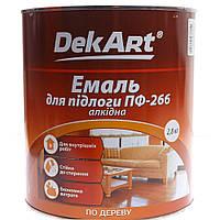 """Эмаль для пола алкидная """"Dekart"""" 2,8кг Уценка DeKart"""