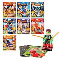 Конструктор Lele 78008 Супергерои Минифигурки 8 видов (аналог Lego Super Heroes)