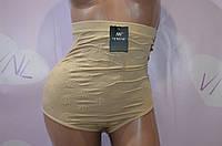 Корректирующее женское белье, бежевые трусы больших размеров
