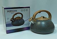 Чайник Bohmann BH 9935 со свистком ~3.0 л, фото 1
