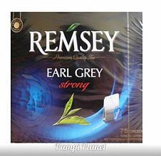 Чай чорний Ramsey з бергамотом (синяя уп.) 75 пакетиков (131.25 гр.)