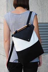 """Женский рюкзак """"Black-White"""""""