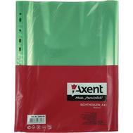 """Файлы А4+ глянцевые цветные 100шт. 40мкм Axent """"KT"""" купить канцелярию оптом ZB-10"""