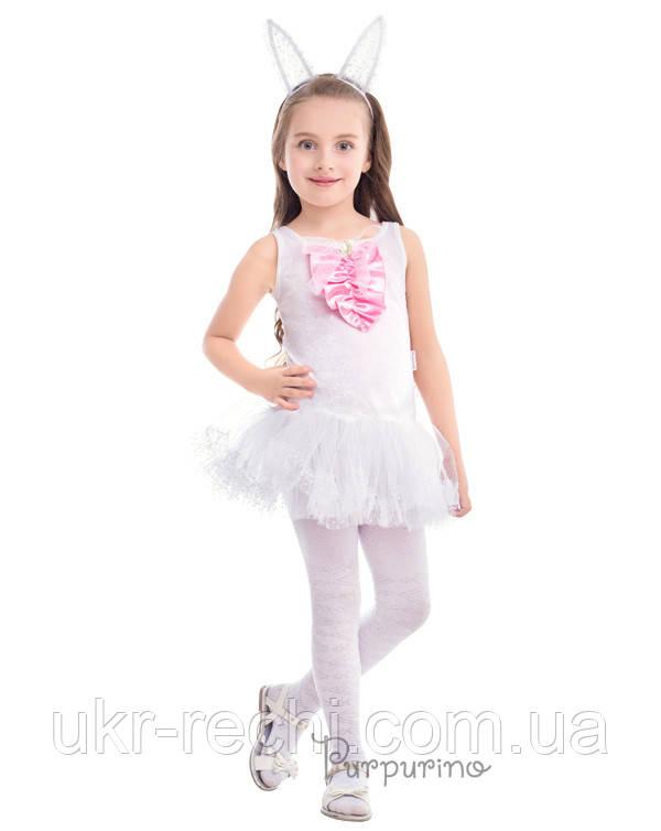 Детский карнавальный костюм Зайчик - девочка Код 2131