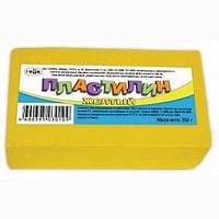 540246 Пластилин детский 280062, жёлтый, 250 гр.
