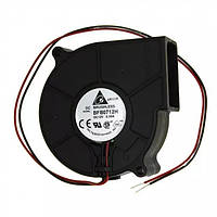 Delta Electronics BFB0712H вентилятор для сервера, ЧПУ-станка и др. 75мм 12В 2пин