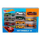 Базовый автомобиль Hot Wheels 10 шт., фото 6