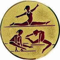 """Наклейка (жетон) на медаль, кубок """"Художественная гимнастика"""""""