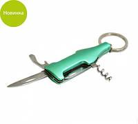Складной нож 7см с инструментами и лезвием из нержавеющей стали Fissman