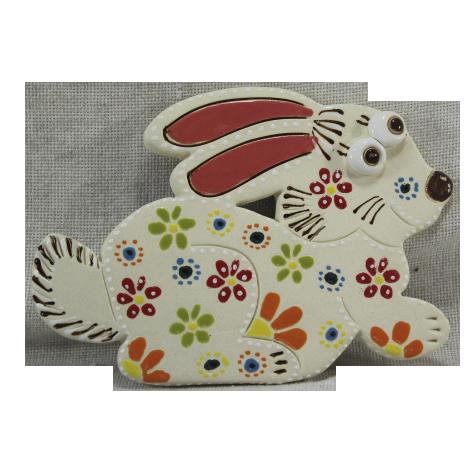 """Сувенир керамический """"Кролик"""" белый"""