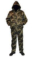 Костюм зимний куртка под резинку + штаны Пиксель р.48-58