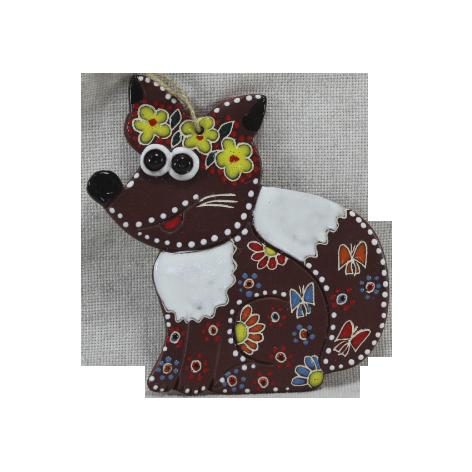 Сувенир керамический «Лиса»