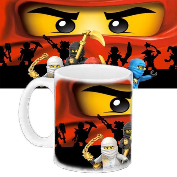 Детская чашка с принтом Мультфильм Ninjago