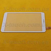 Тачскрин, сенсор  DXP2-0331-080A-FPC для планшета, цвета белый