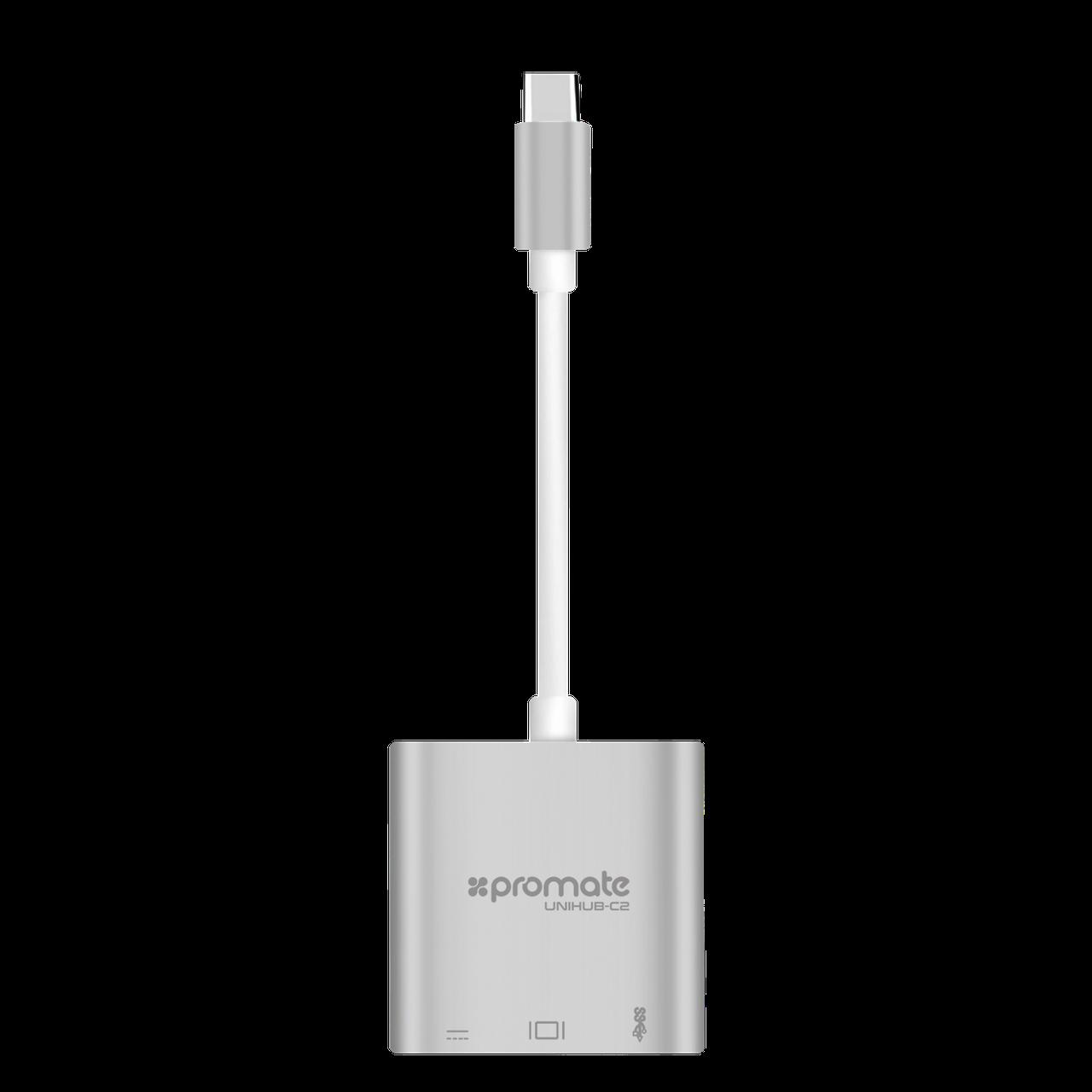 USB Хаб UniHub-C2 Grey
