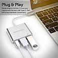 USB Хаб UniHub-C2 Grey, фото 2