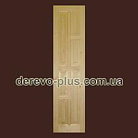 Двері з масиву дерева 60см (глухі) f_1560