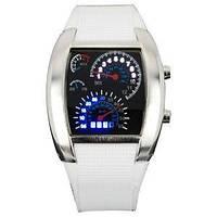 Наручний годинник Led Watch Sport Car у вигляді спідометра, 1001206, 0