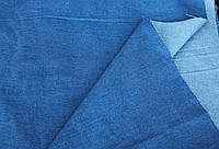 Джинс плотный  однотонный (голубой)
