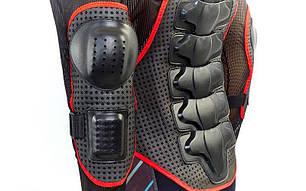 Моточерепаха мотозащита FOX BC-710 (PL, пластик, сетчатая ткань, спандекс, р-р L-4XL (RUS-48-54), черный), фото 2