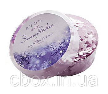 """Мыло-конфетти для ванны """"Снежные хлопья"""", Avon, 65348"""