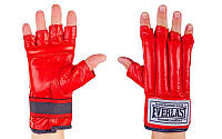 Шингарты Кожа Everlast  (р-р S-XL, красный)