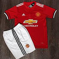Футбольная форма Манчестер Юнайтед красная (сезон 2017-2018)