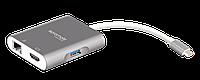 USB Хаб UniHub-C3 Grey