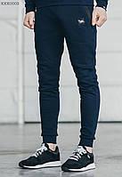 Тёплые спортивные штаны Staff tech navy fleece, KKK0003 . только ХХЛ