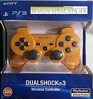 Джойстик SONY DUALSHOCK 3 PS3 Оранжевий