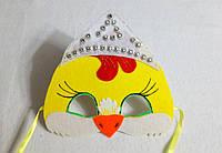 Новогодняя  маска курочка