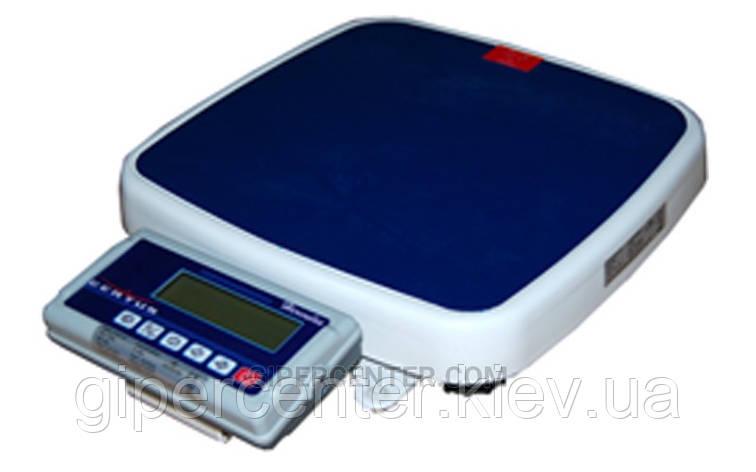 Весы фасовочные портативные Certus Base СНПп2-150Г50 до 150 кг, точность 20/50 г  (односторонний дисплей), фото 2