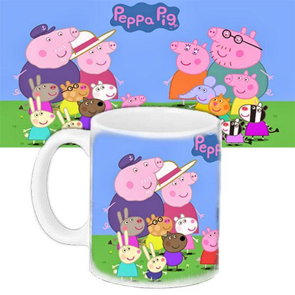 Дитяча чашка подарунок з принтом Свинка Пеппа