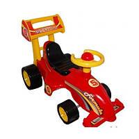 Машинка толокар для катания Технок Формула 3084