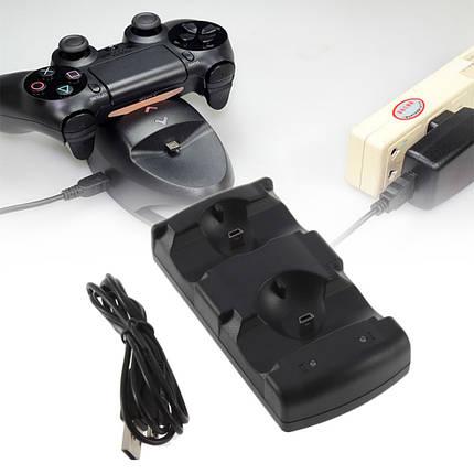 Подставка-зарядка под джостики PS3 (2 в 1) 41119   dl, фото 2