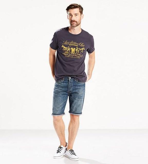Джинсовые шорты Levis 501 - Destiny Street  (W 40)
