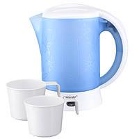 Электрический чайник 0,6 л с чашками Maestro MR 010