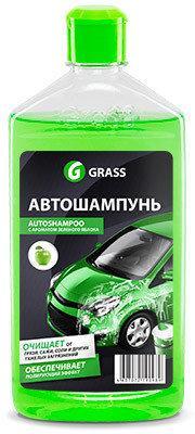Автошампунь яблоко Universal 0.5L Grass
