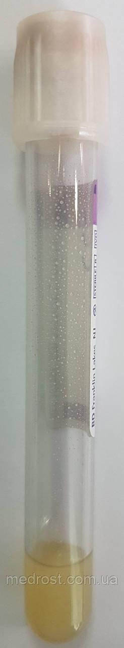 Пластиковые пробирки BD Vacutainer® PPT™ с белой крышкой BD Hemogard™, 5мл, 13x100мм